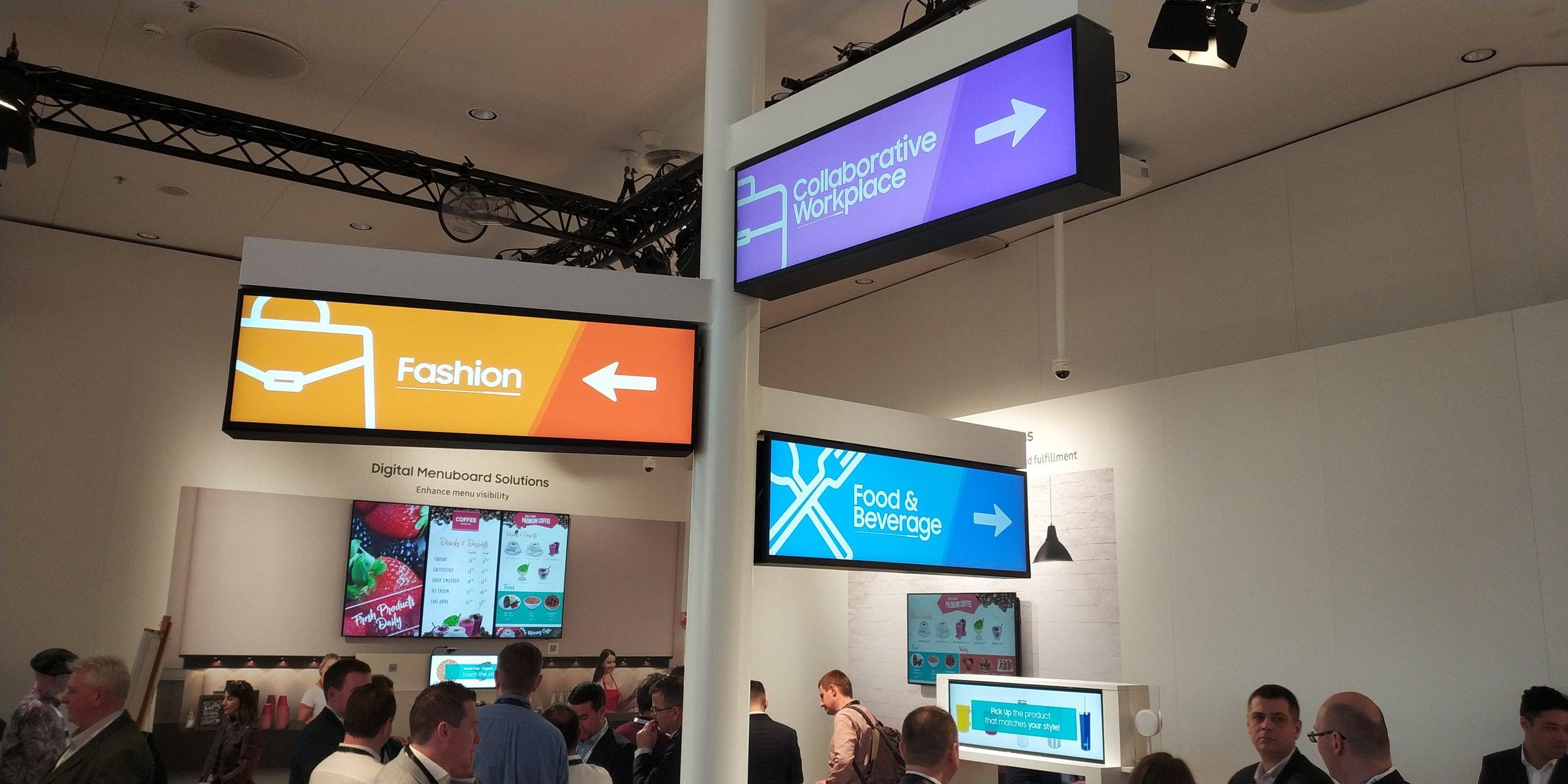 Samsung Digital LED Signage