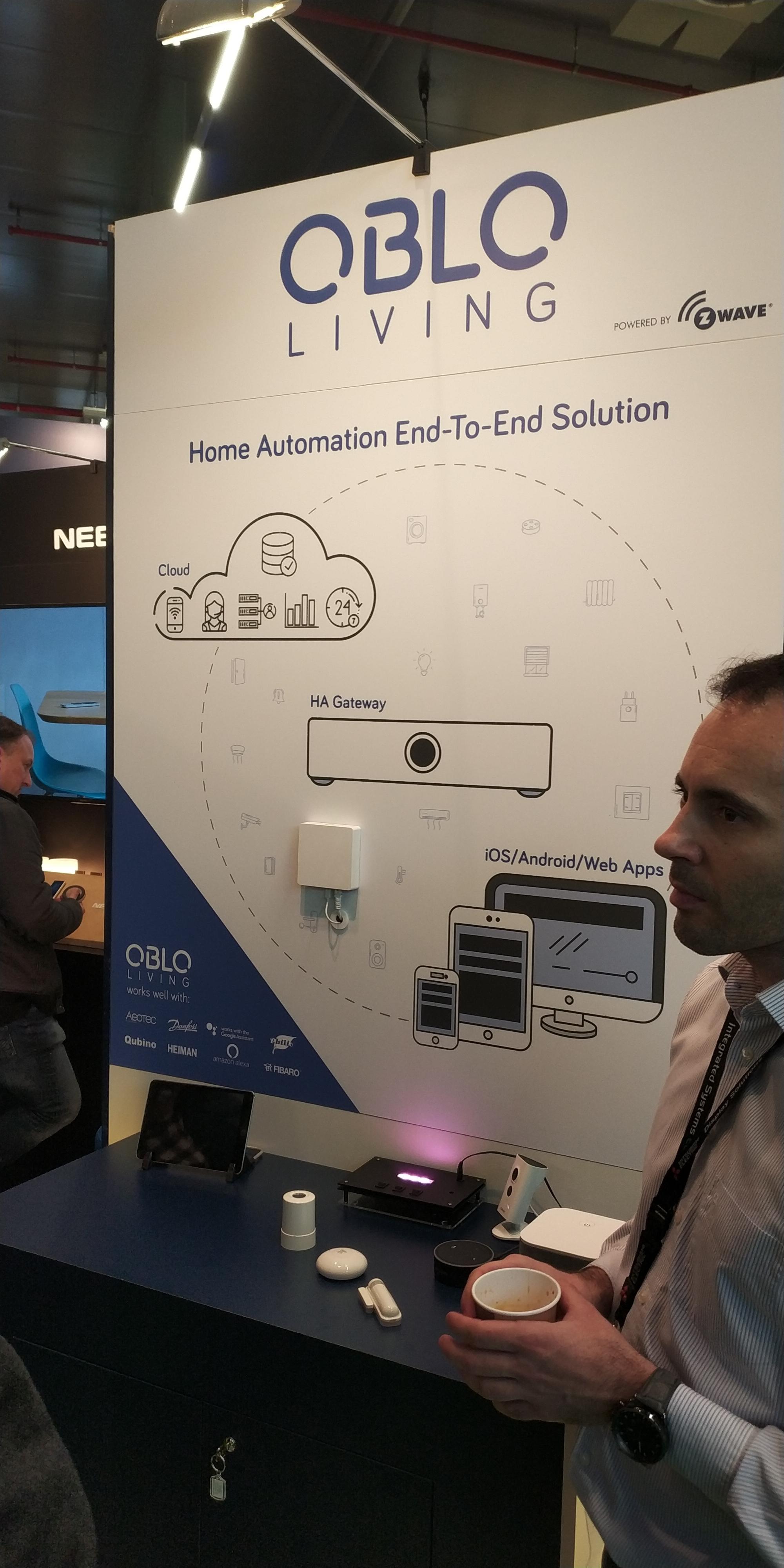 Oblo Living Zwave Smart Home Control