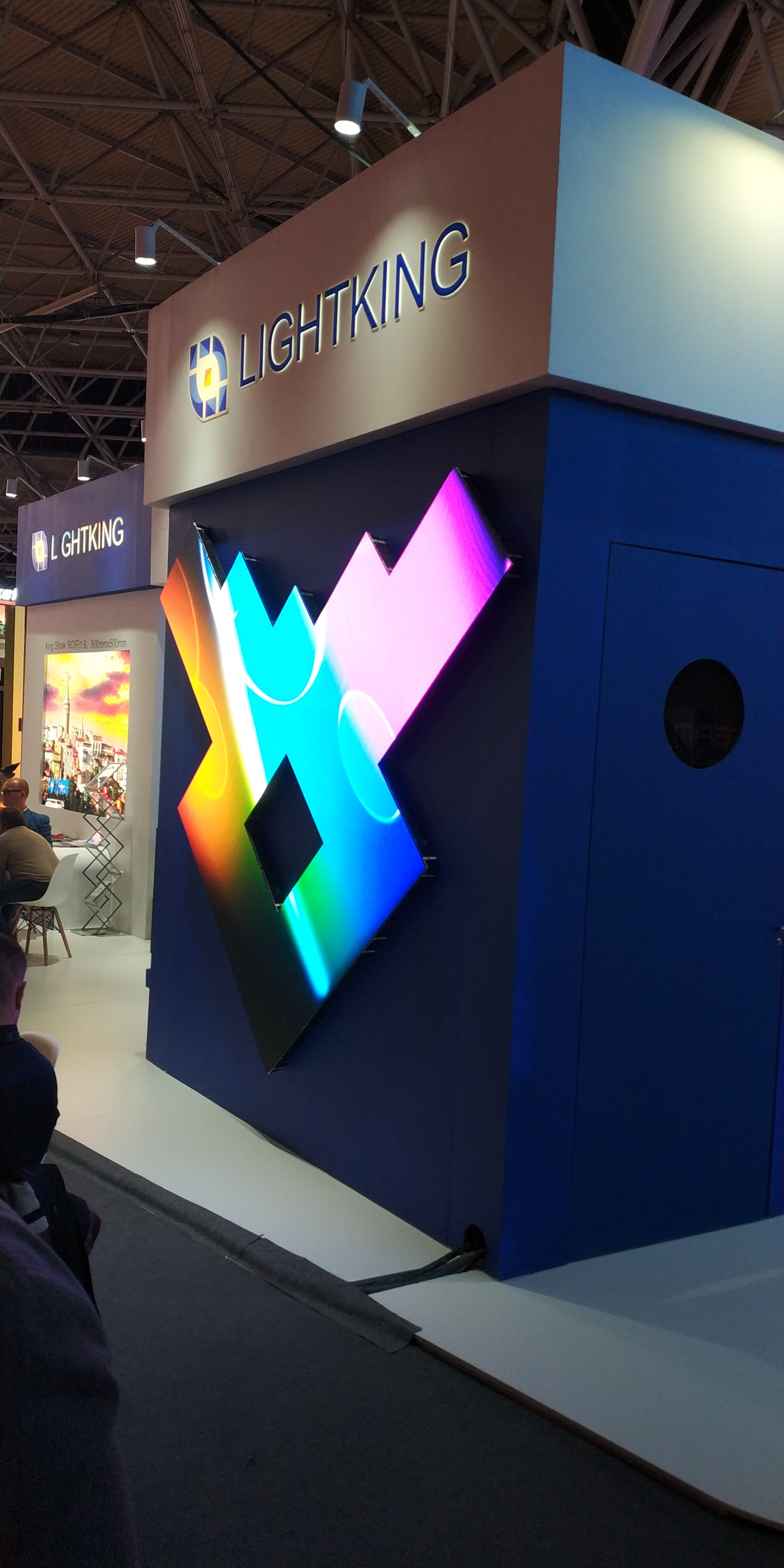 One of the many beautiful displays on show at ISE 2018