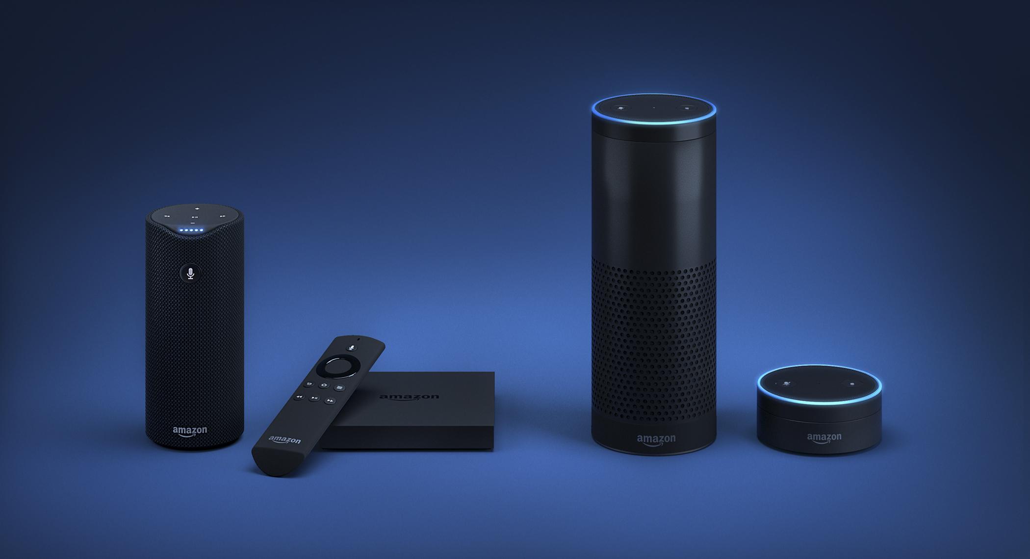 Amazons Alexa family of products