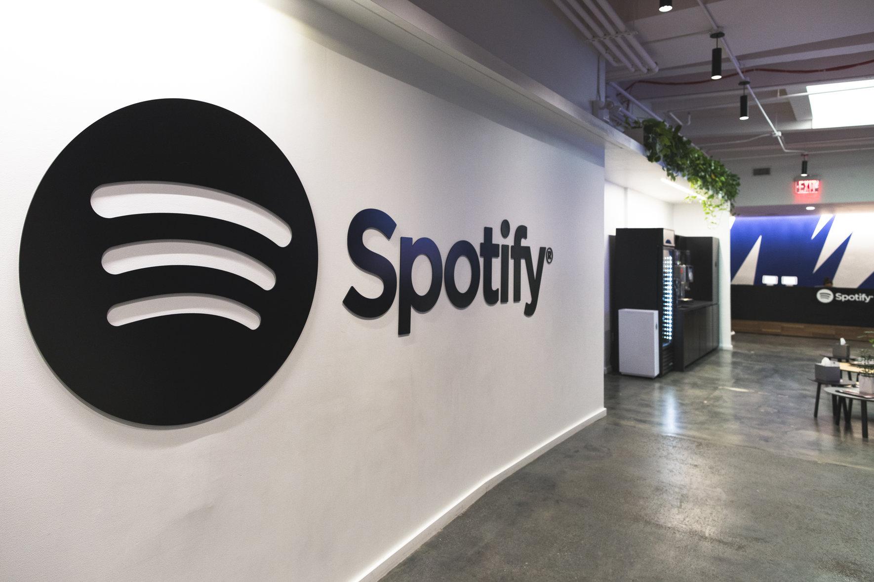 Spotify Reception in NY