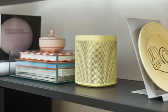 Sonos One in Yellow