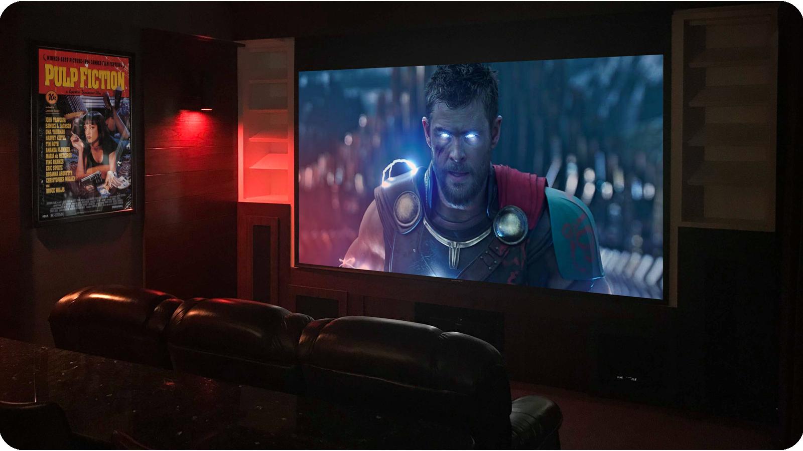 Thor Home Cinema Room in Phuket
