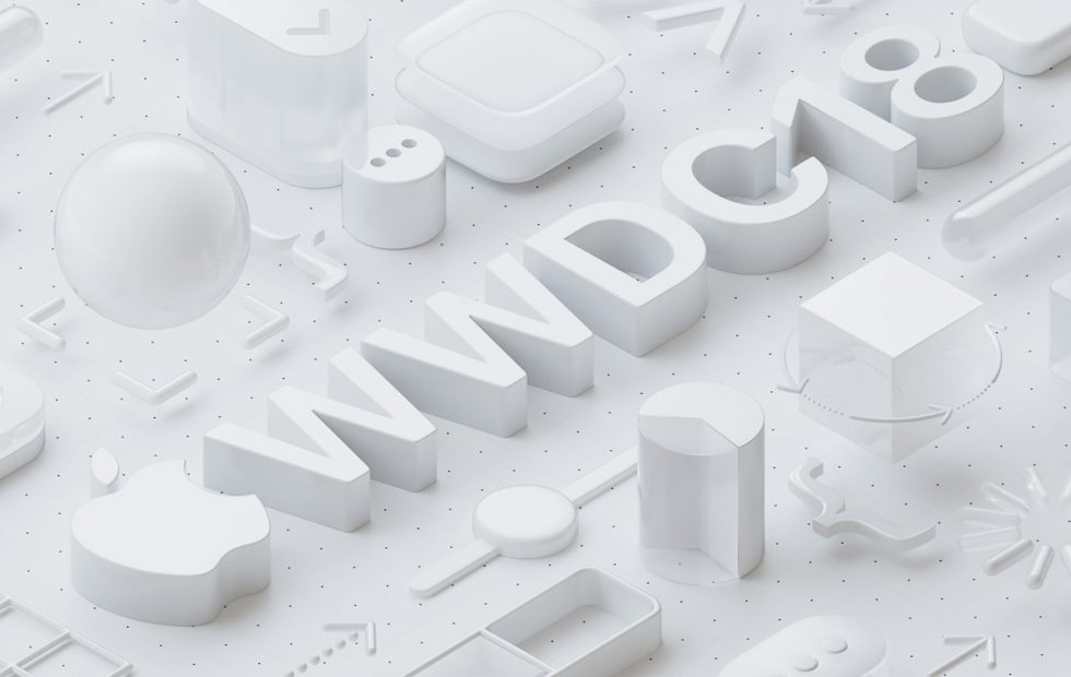 The Apple Worldwide Developers Conference for 2018