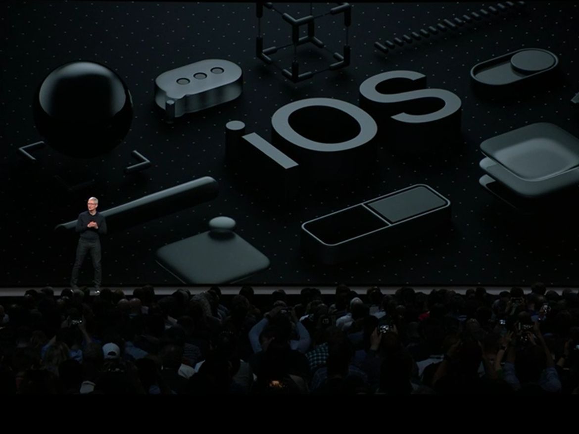 Tim Cook at Apples WWDC 2018