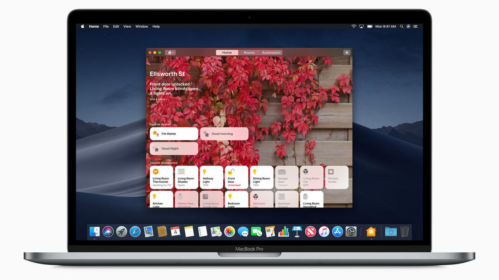 Home App on MacOs Mojave