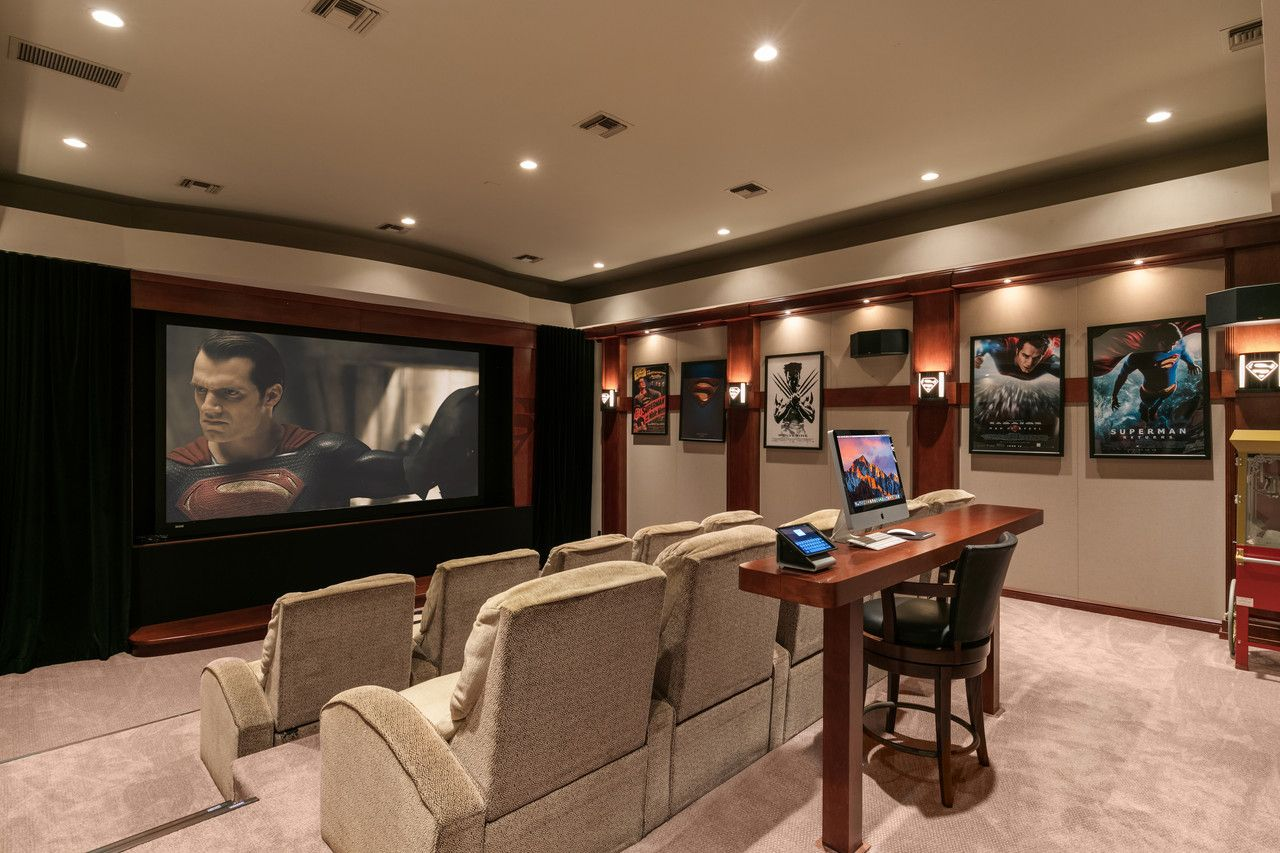 Shaq's Home Theatre - Front view