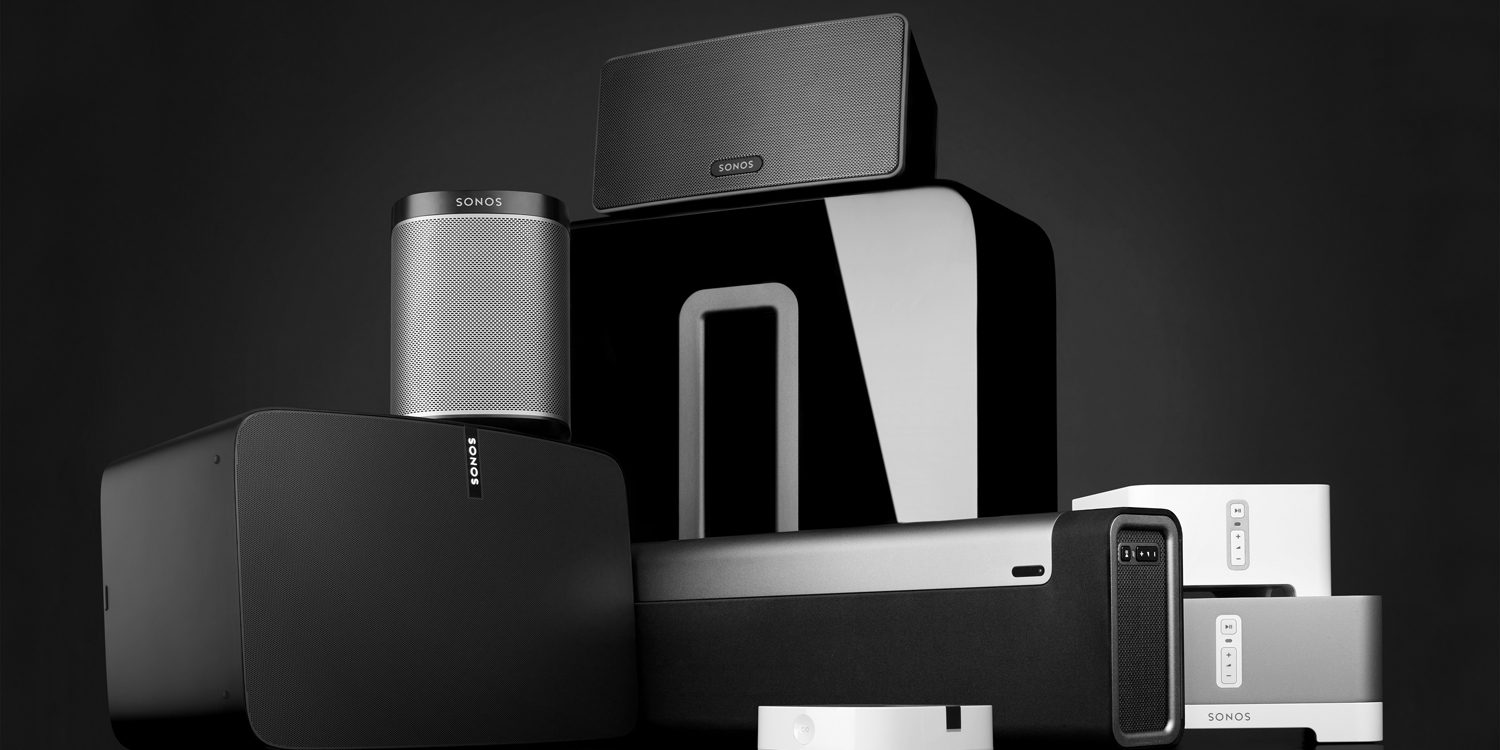 Sonos family of Products