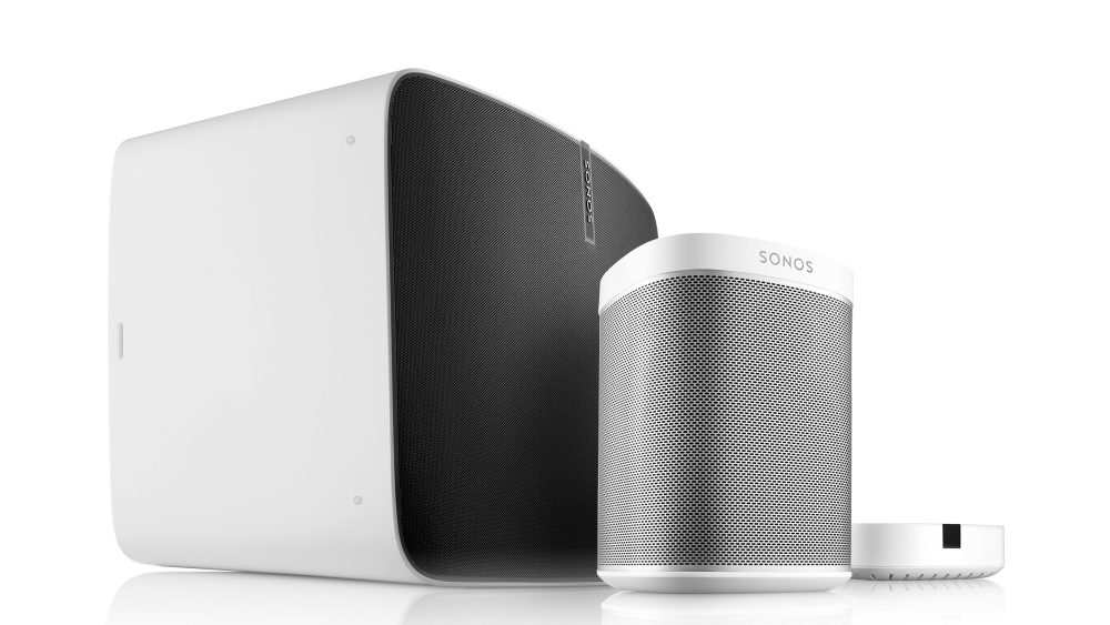 Sonos white products