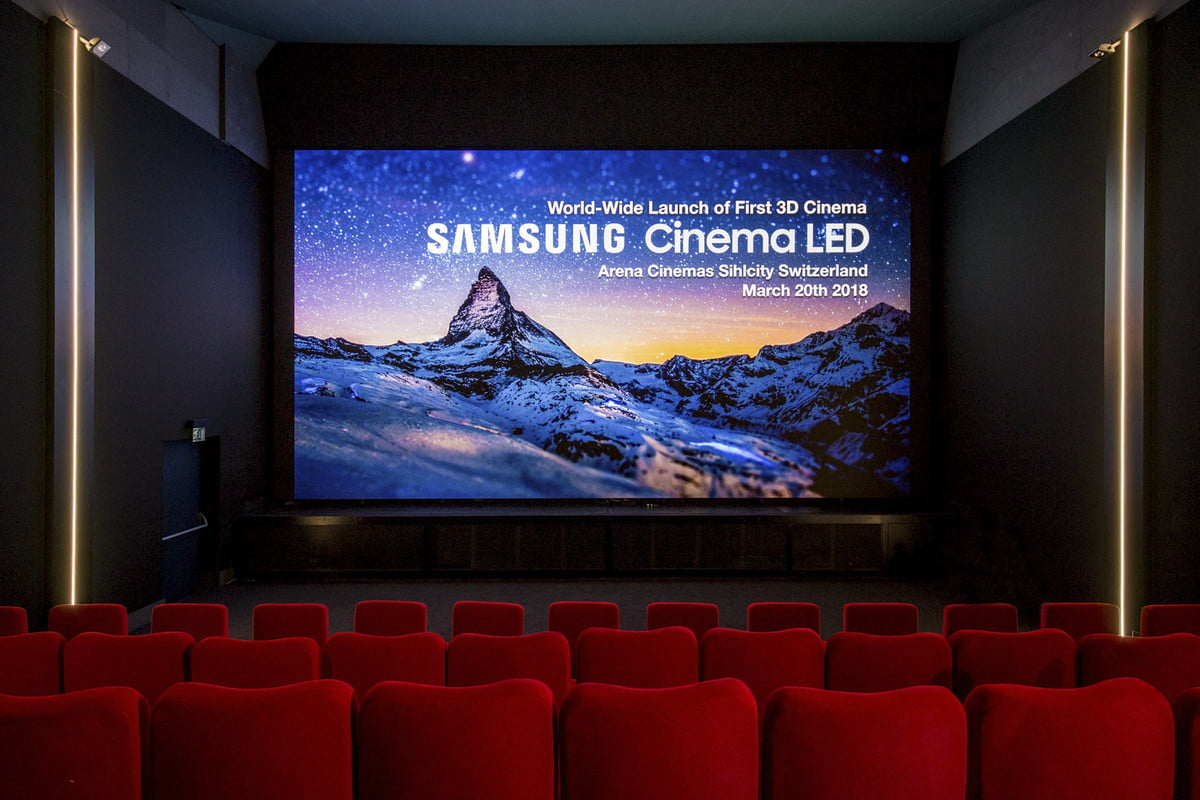 Samsungs Giant 34 foot cinema screen