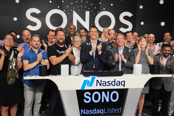 SONOS Lists on the NASDAQ market with IPO