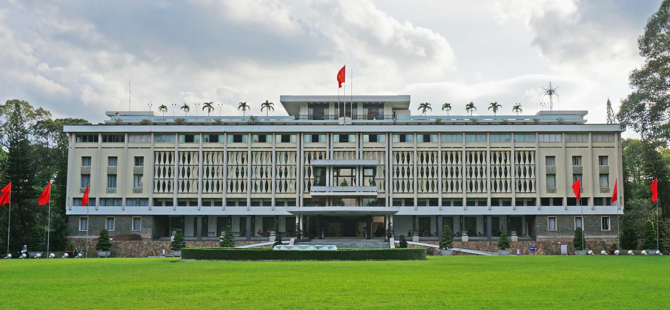 The Independence Palace in Saigon (Ho Chi Minh) City
