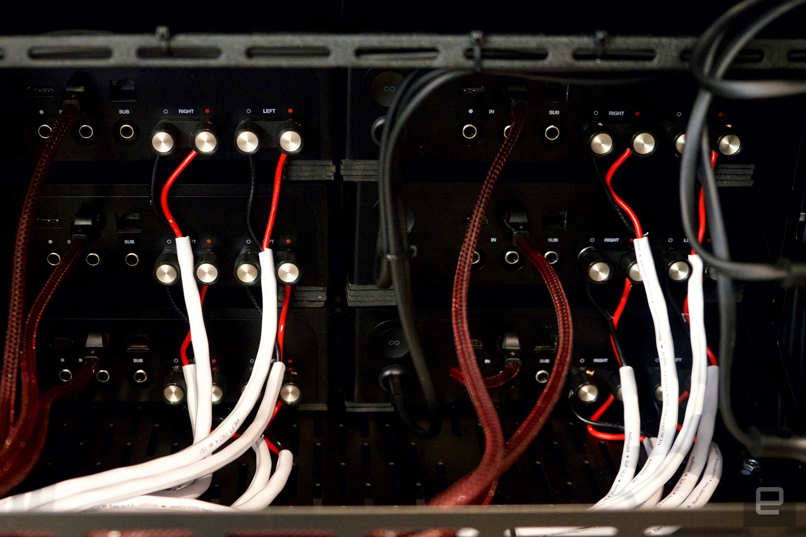 Rack mounted Sonos Amps