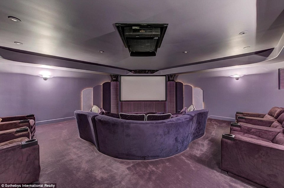 Eddie Murphy's old Home Cinema feels very 90's - I'm sure the new owners will want to update.