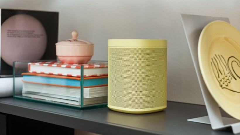 SONOS multi room sound system, audio now available in Yellow colour.