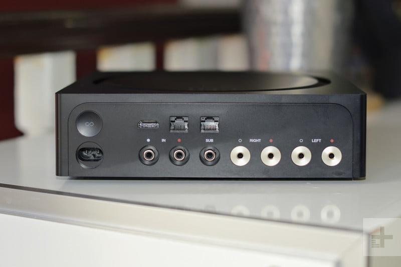 Sonos ZP100 Home Audio Amplifier - Rear Connections