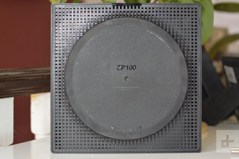Underneath the Sonos ZP100
