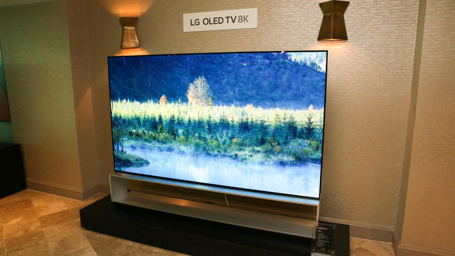 """LG's 88"""" 8K OLED TV Featuring Dolby Atmos"""
