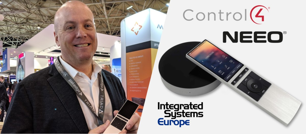 Control4 announce acquisition of Neeo at ISE 2019