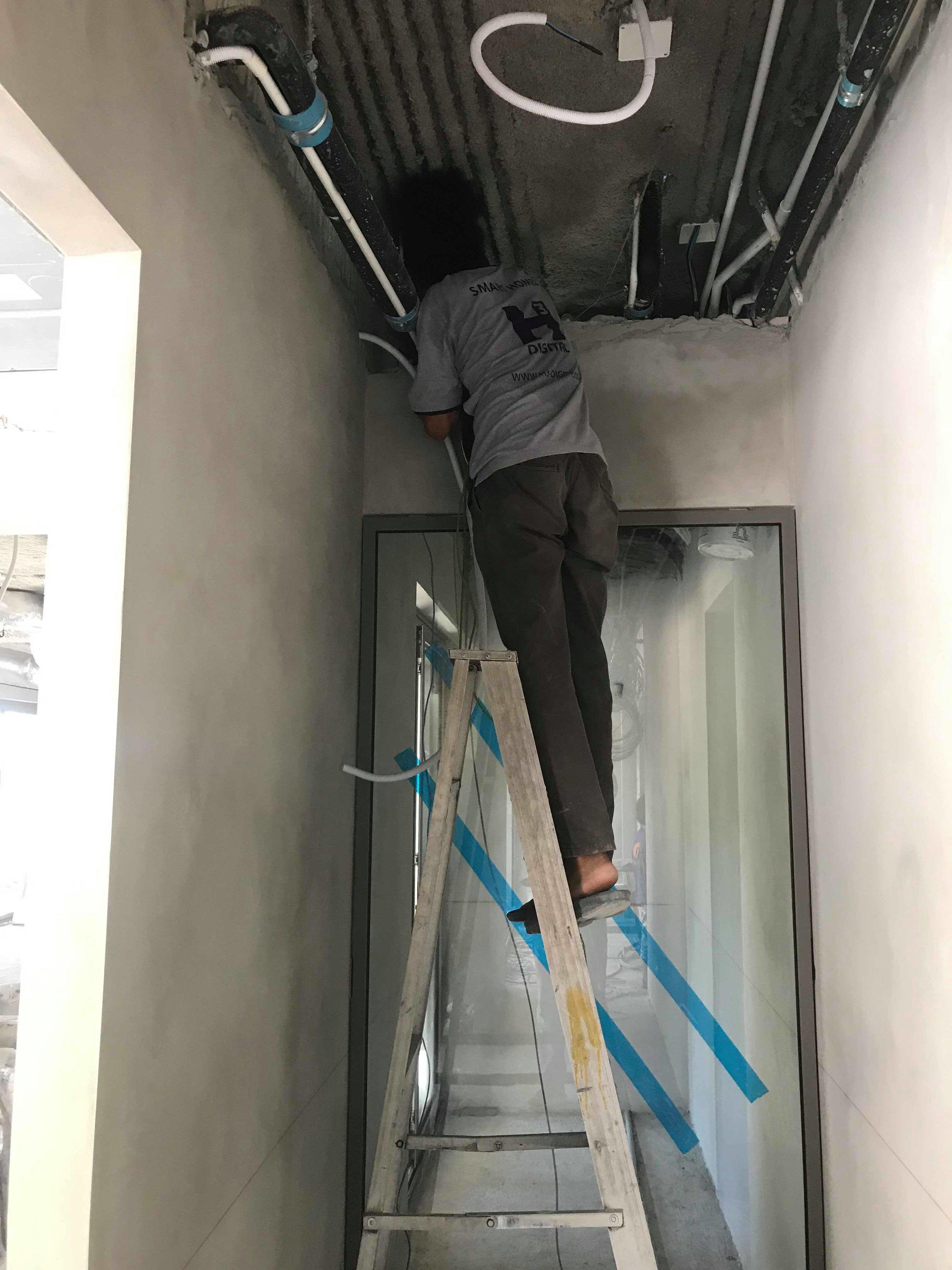 Smart Home Wiring Installation