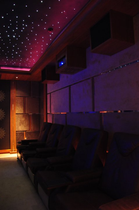 Fibre Optic Starlight Ceiling