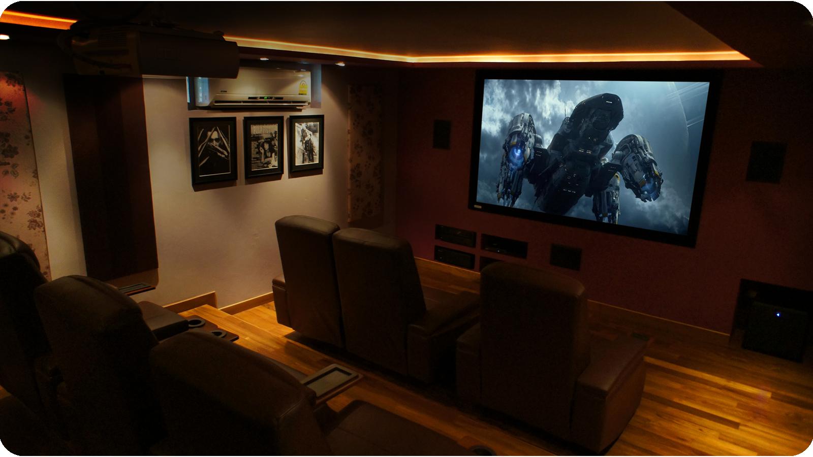 Home Cinema in Thailand 4