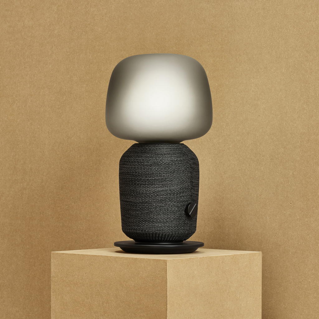 The first multi-room audio speaker built into a desk lamp from Sonos and IKEA