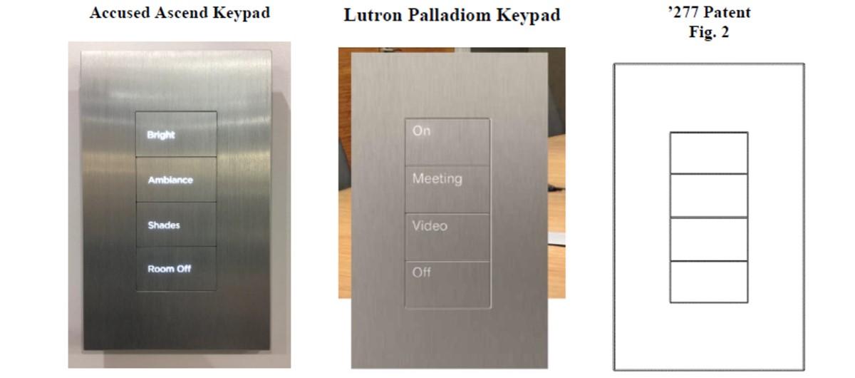 Lutron vs Savant keypads