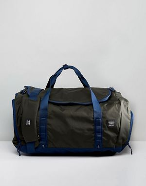 Herschel Supply Bag.  He'll probably need something to lug all this stuff to and from the gym, right? This bag is as eye-catching as it is effective. $80 and up.