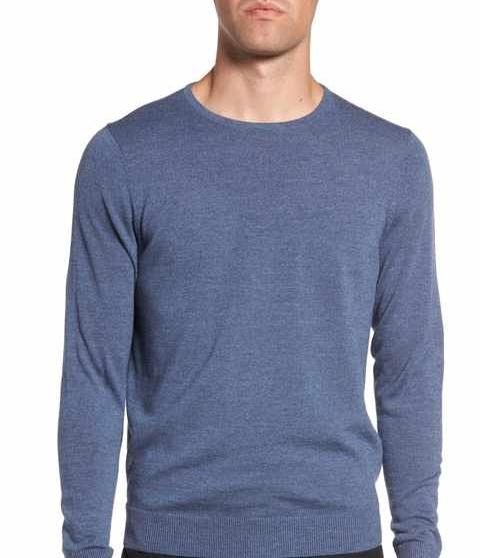 Nordstrom Rack Crewneck Merino Wool Sweater $48