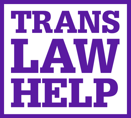 Trans Law Help logo