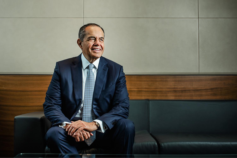 The profile picture of a Wikipedia Billionaire... — Corporate Headshots  London