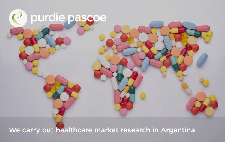 We carry out healthcare market research in Argentina