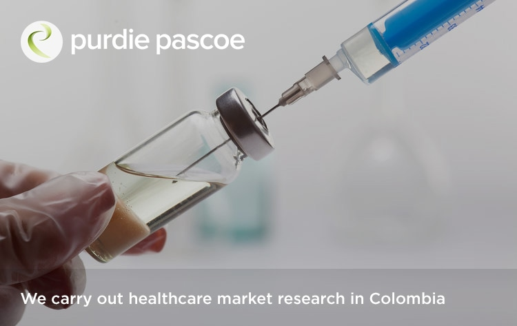 We carry out healthcare market research in Colombia