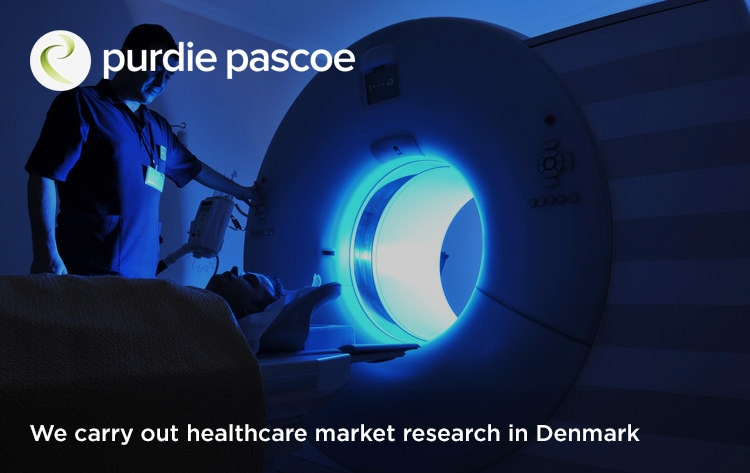 We carry out healthcare market research in Denmark