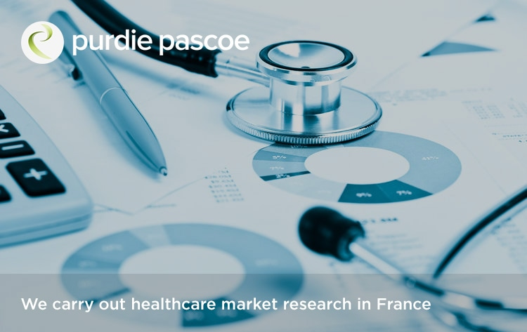 We carry out healthcare market research in France