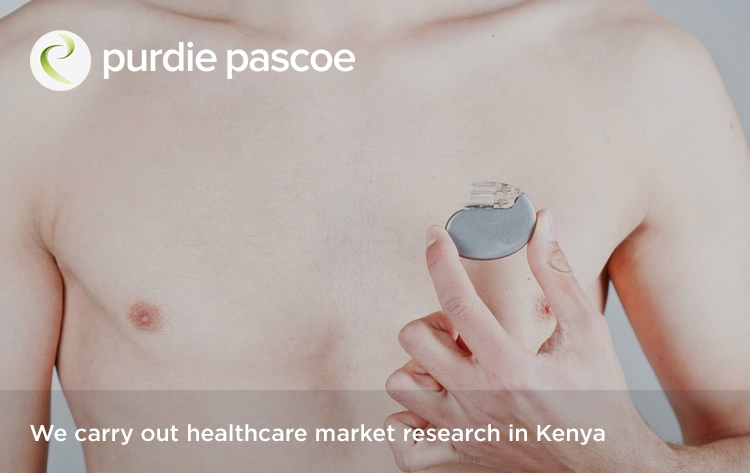 We carry out healthcare market research in Kenya