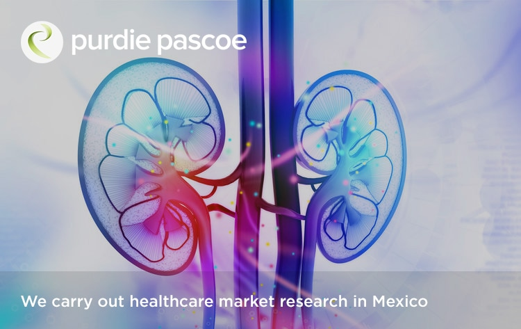 We carry out healthcare market research in Mexico