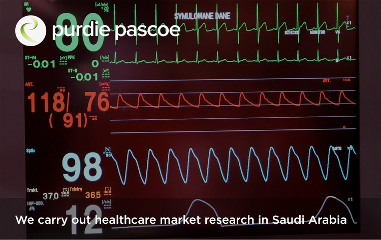 We carry out healthcare market research in Saudi Arabia