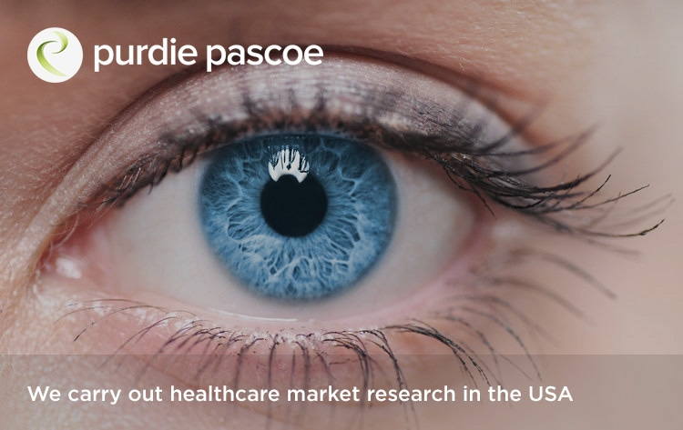 We carry out healthcare market research in the USA