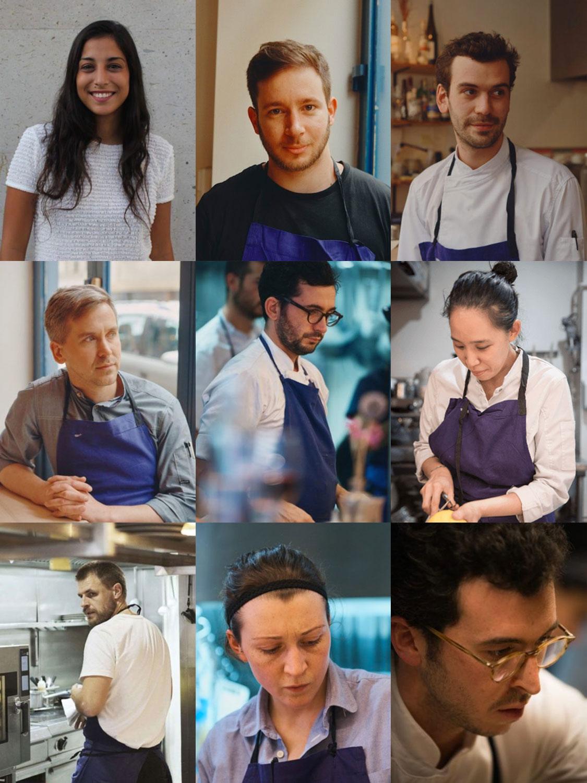 Past chefs / 2016-2019