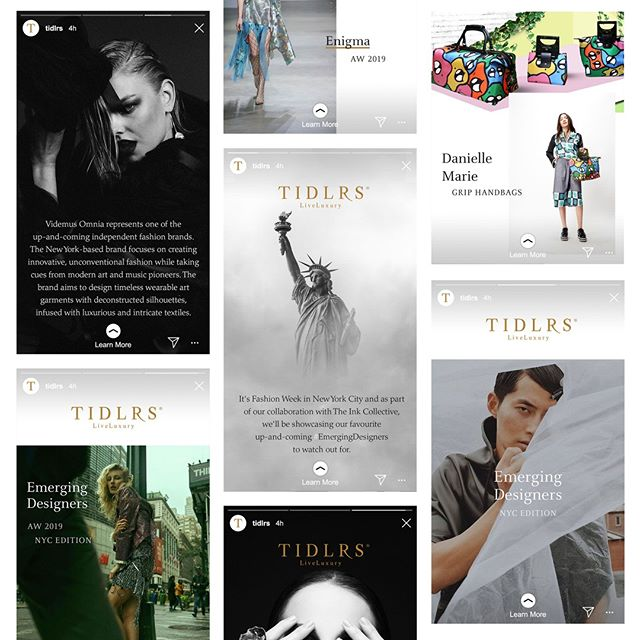  Some of our recent Instagram stories created for @tidlrs as part of our joint collaboration on the #EmergingDesigners series in New York City.   Interested in custom content management? Hit us up. We're the specialists in creating 360 packages, from photography through to copywriting, web design through to social media curation. We have you covered.  //  #insideink #creativeagency #exploretocreate #creative #freelance #magazine #cover #magazinedesign #printdesign #content #editorial #USA #newyorkfashionweek #newyorkiloveyou #newyorkfashion #fashion #videmusomnia #streetstyle #outfitoftheday #fashionstyle #nyfw #fashionaddict #fashiondiaries #fashionshow #NewYorkCity #thebigapple