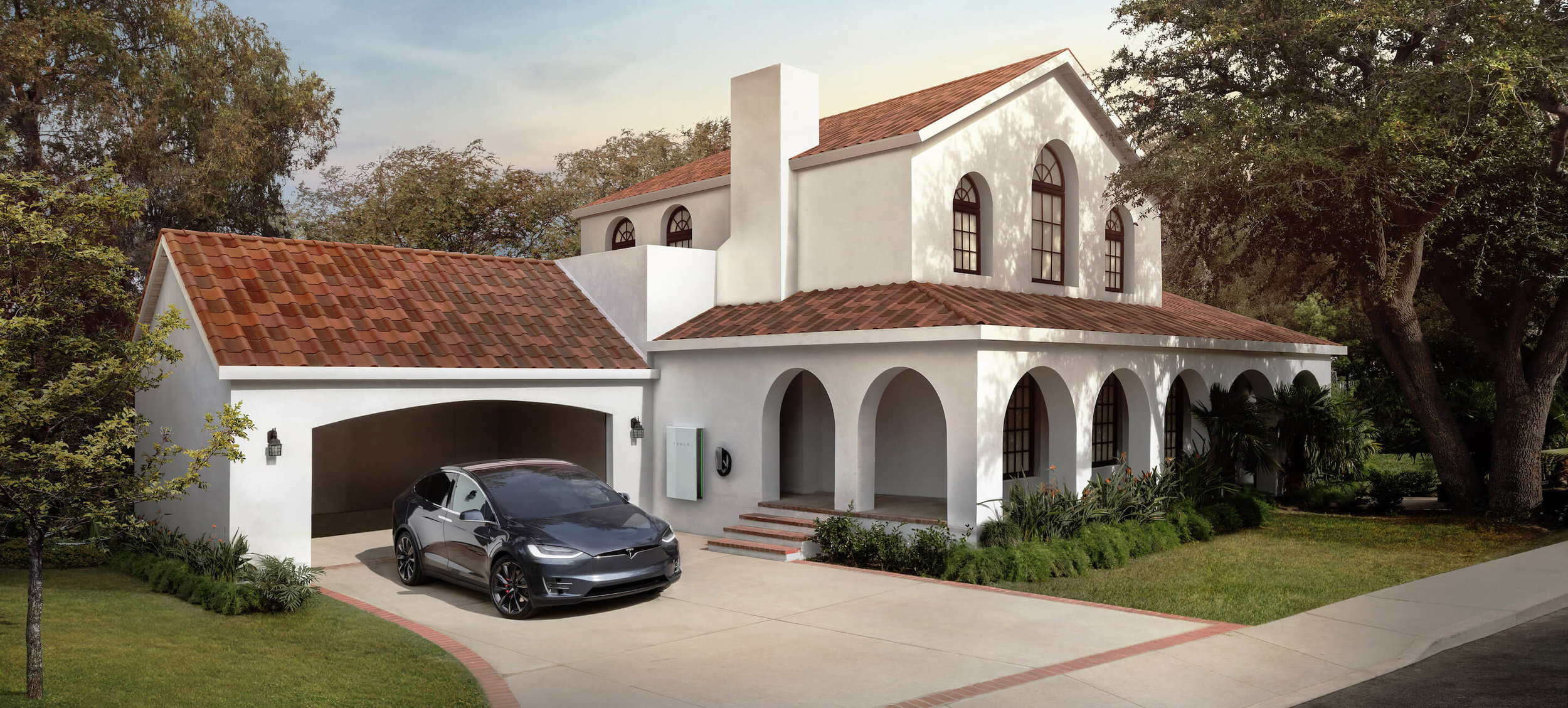Solar panels are ugly is no longer an excuse! Elon Musk and Tesla are bringing sexy back to solar energy. And yes...that's a solar roof on this house!