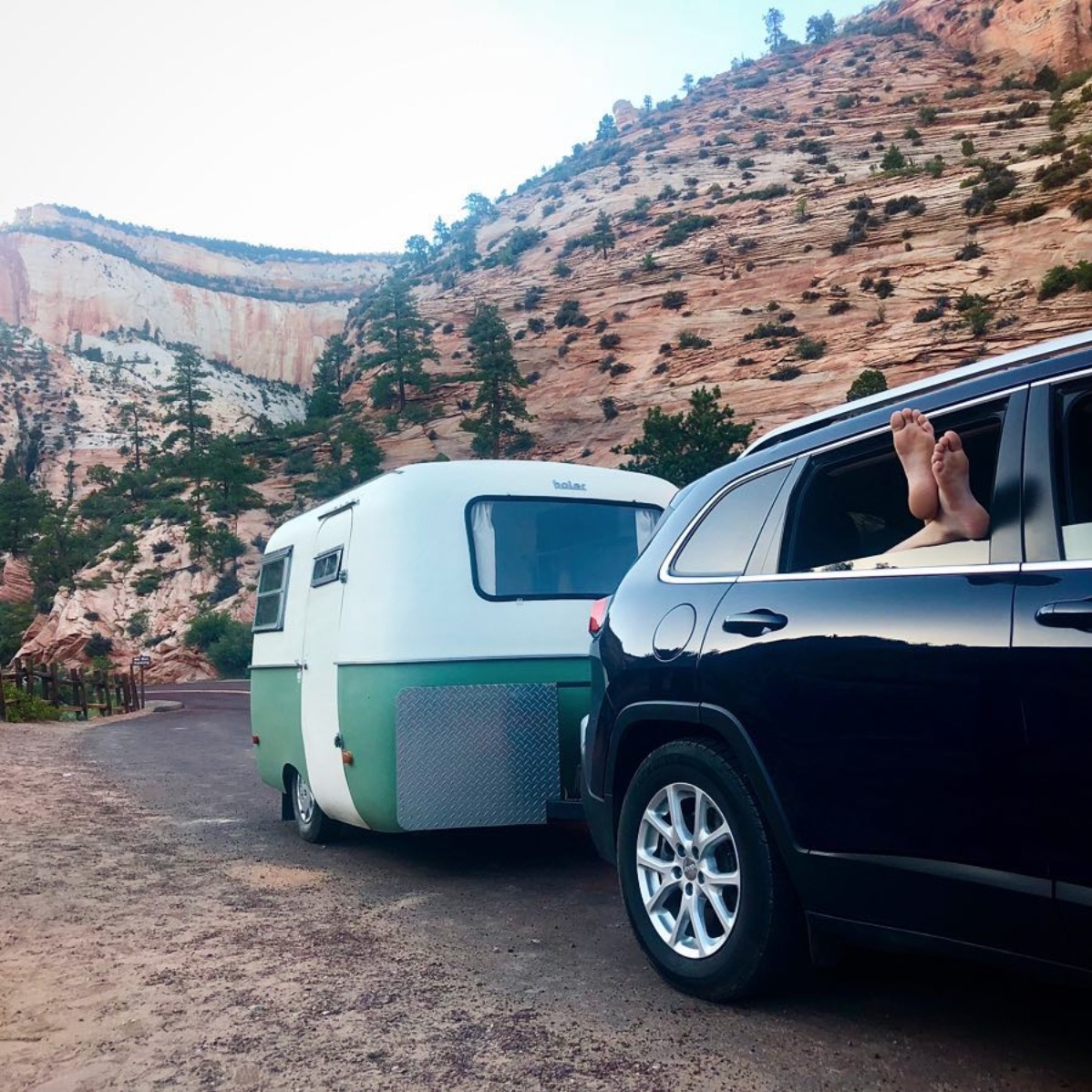 JUNE 2018   Have Boler, Will Travel became Kathy and Brian's catchphrase as they load up their two teenagers and head out on a 14-state camping trip in their Boler, the fiberglass trailer they bought a few winters back.