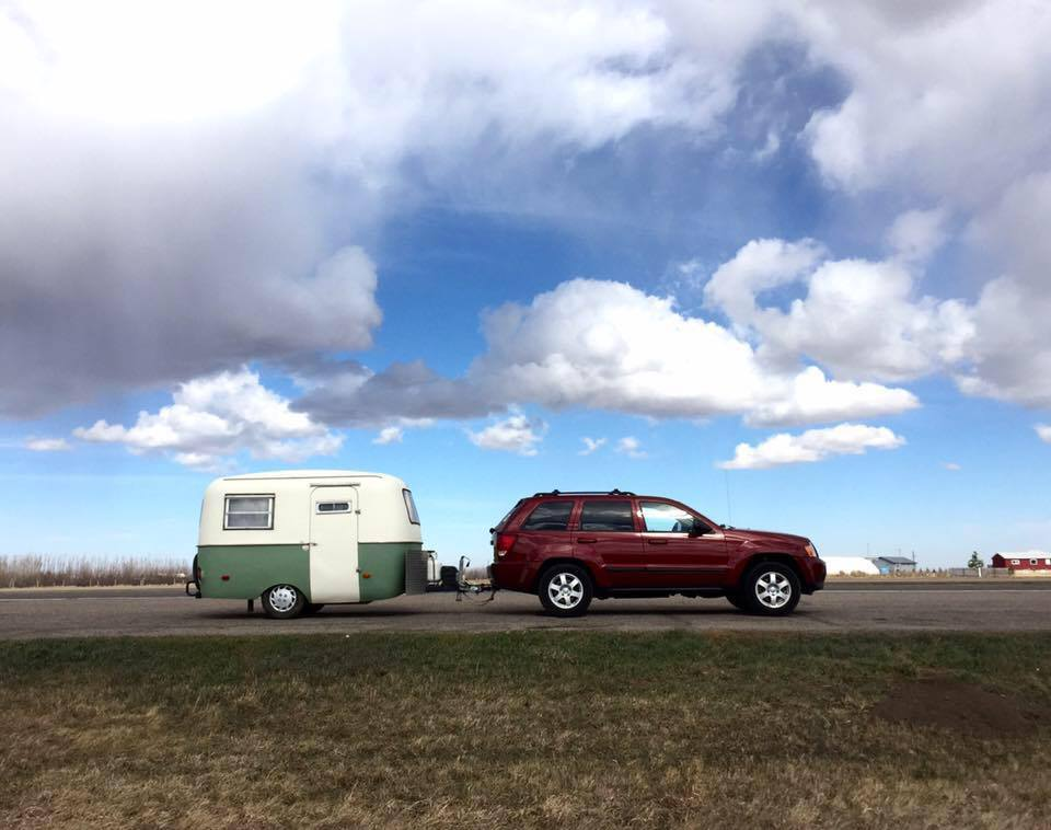 MARCH 2016   Kathy and Brian fulfill a lifelong dream of owning a vintage travel trailer. Brian drives to Calgary to pick it up. Yes, that Calgary. The one in Canada.