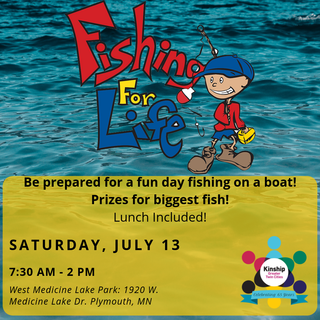 Fishing for Life Flyer at West Medicine Lake Park