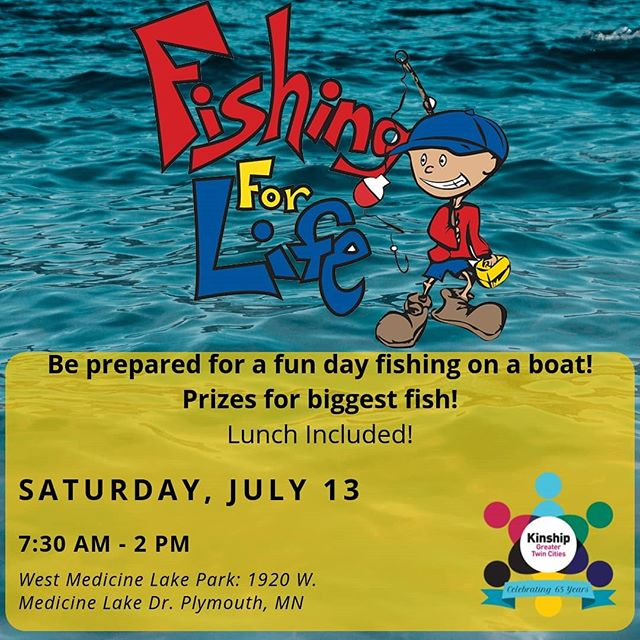 Sign up for the Fishing For Life Annual Event! Information on our website. We look forward to seeing all of you there.