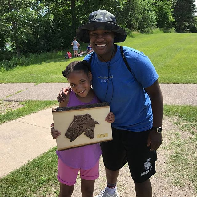 Thanks to Fishing For Life for an AMAZING time at the lake once again! Kinship had a great time and even won a prize! #catchingfish #fishingforlife #mentoringworks