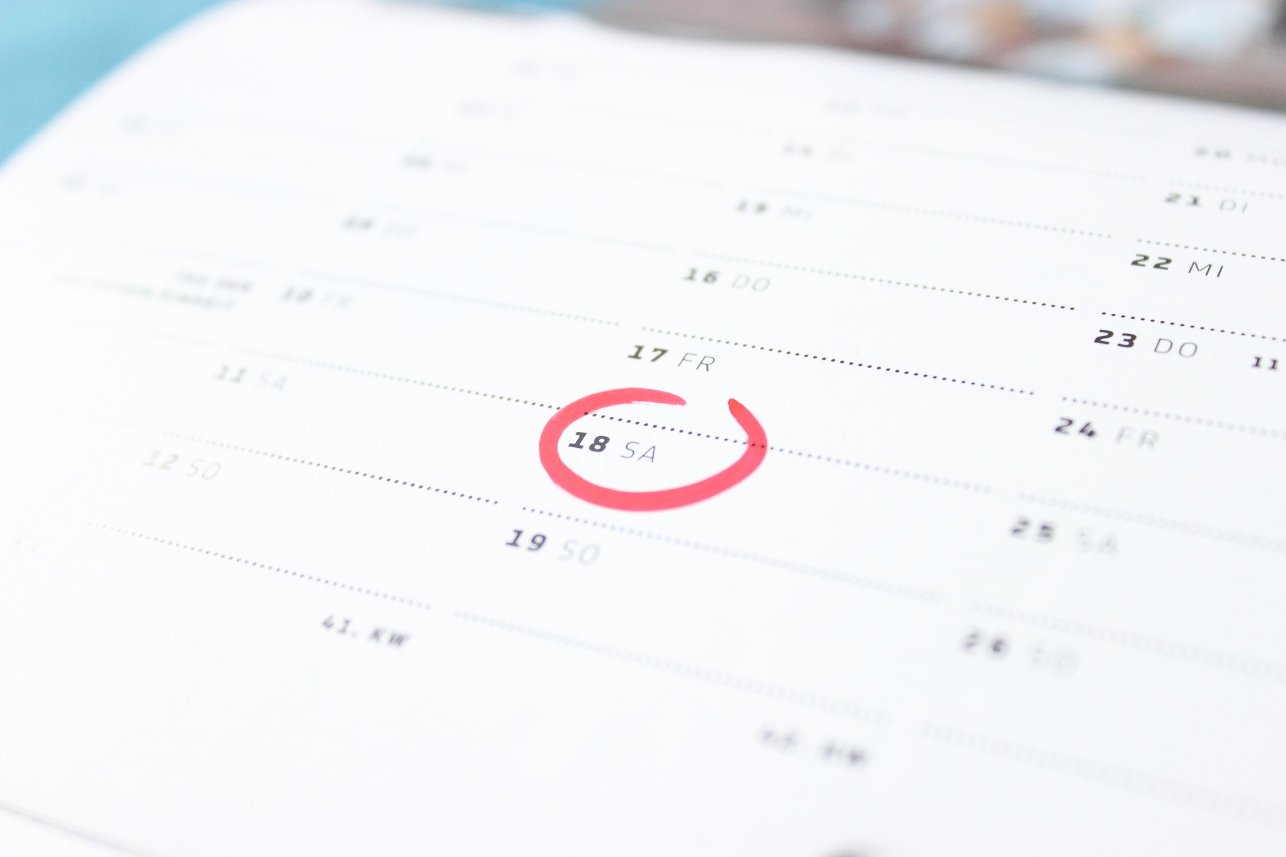 Establish a annual date for reviewing the conflicts policy review and submitting disclosure statements.