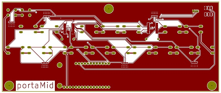 PCB Front Copper Layer